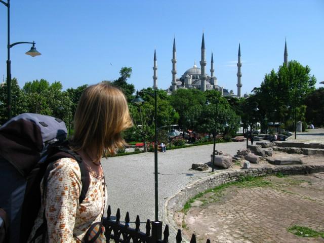 В центре Стамбула: Куда ни плюнь, везде история