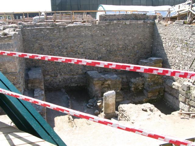 Археологические раскопки около Айя-Софии