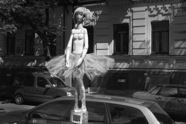 уличная балерина