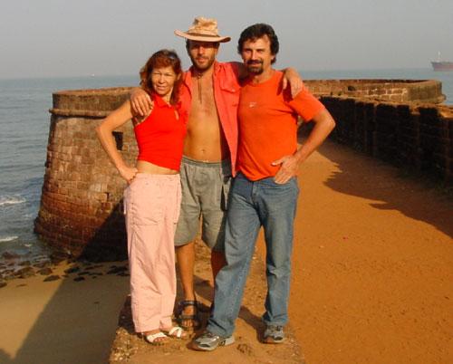 в форте Агуада