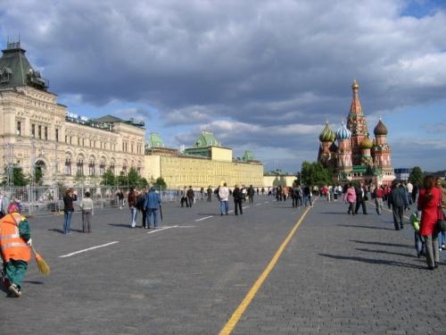 Низкое российское небо. Мне оно запомнилось именно таким.