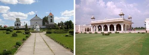 И в Беларуси, и в Индии много всяких прелестных местечек…