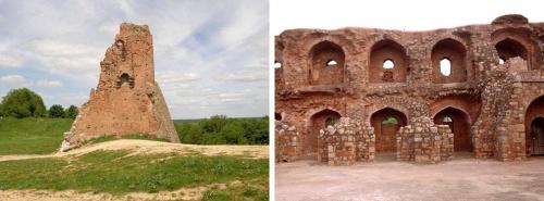 Например, и у нас, и у них есть древние развалины