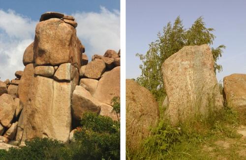 Камни: сразу и не догадаешься, чьи индийские, а чьи белорусские