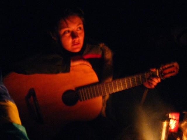 Ночные посиделки на Аркаиме