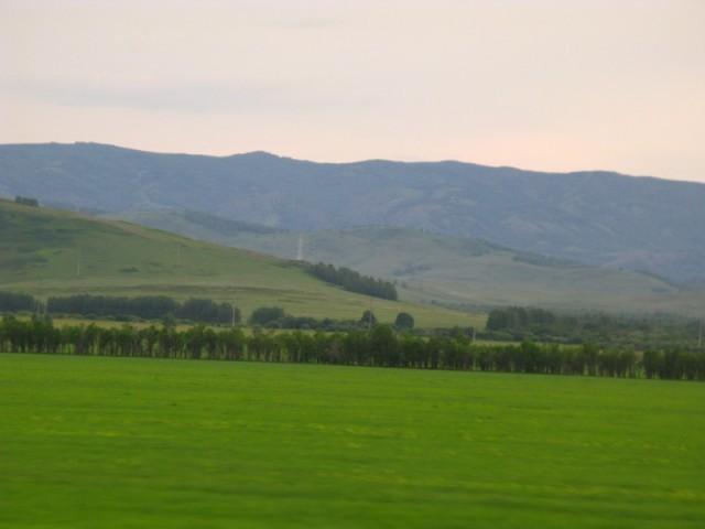 Уральские горы (вид из автобуса)