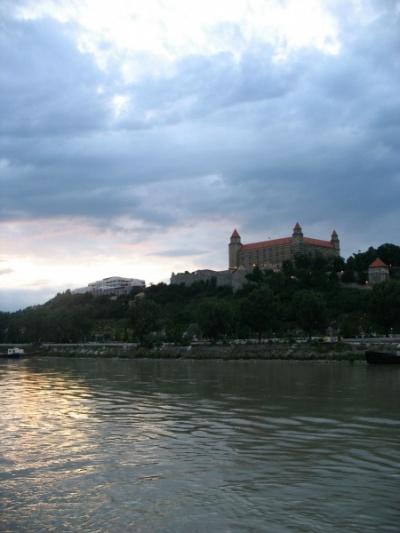 Закат над Братиславой