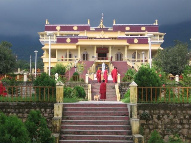 тот самый Gyoto Monastery, Дарамсала