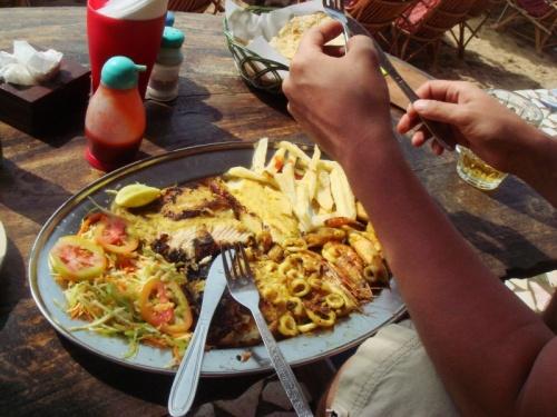 Анжуна: рыбное ассорти на двоих в кафе Lilliput
