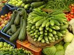 Овощи на рынке манали....глаза радуют