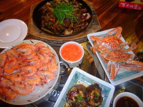 Seafood, Китай