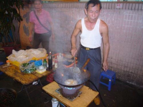 Уличный повар, Китай