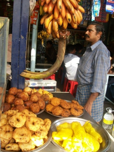 Вкусняшки в Каньякумари