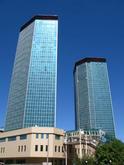 Казахские небоскребы