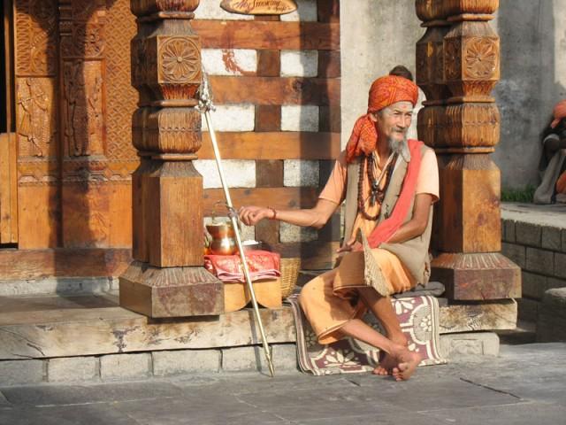 Васишт, Долина Куллу, Гималаи, Индия
