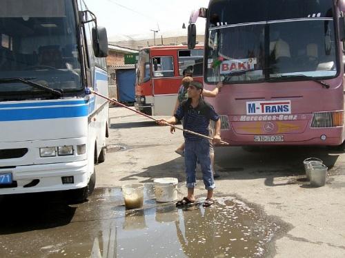 Автостанция в Астаре (Азербайджан)