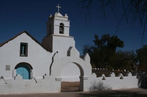 Церковь в Сан-Педро де Атакама