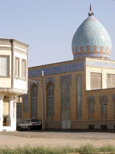 Мечеть просто сфоткана по дороге