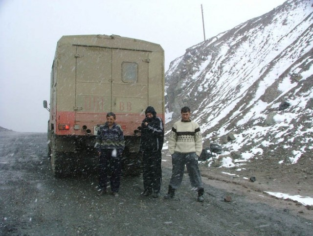 Самый высокий перевал Советского Союза - Акбайтал-4655м