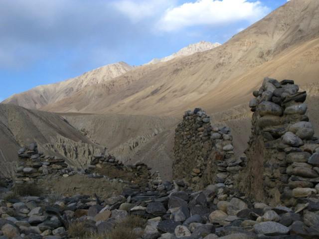 Крепость в Ваханской долине