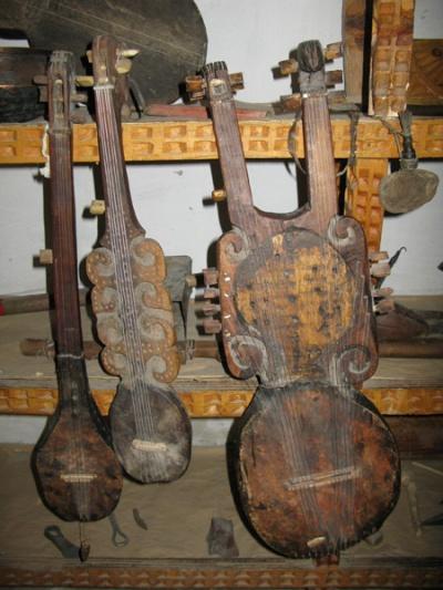 Народные инструменты ваханской долины