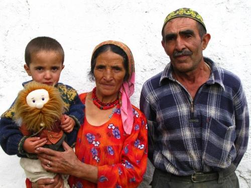 Памирская семья