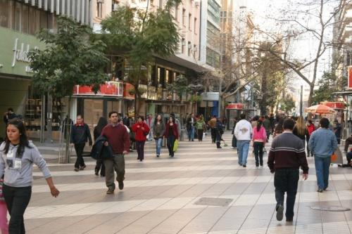 Пешеходные улицы