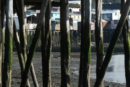 Палафитос - дома на деревянных сваях