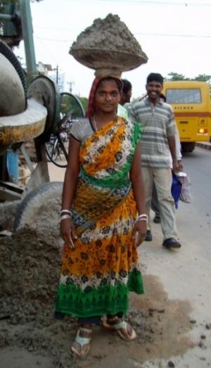 Женский труд. Бхубанешвар