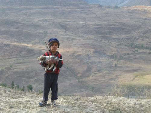 Дорога из Душанбе в Истаравшан