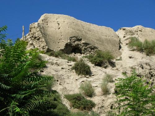 Развалины еще одной крепости Александра Македонского