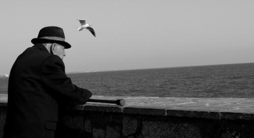 ...старик. ... и море.