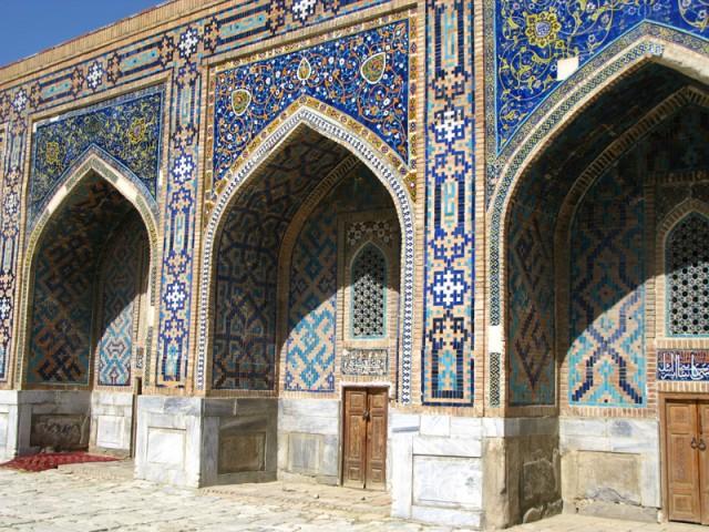 Золотая медреса, Регистан, Самарканд