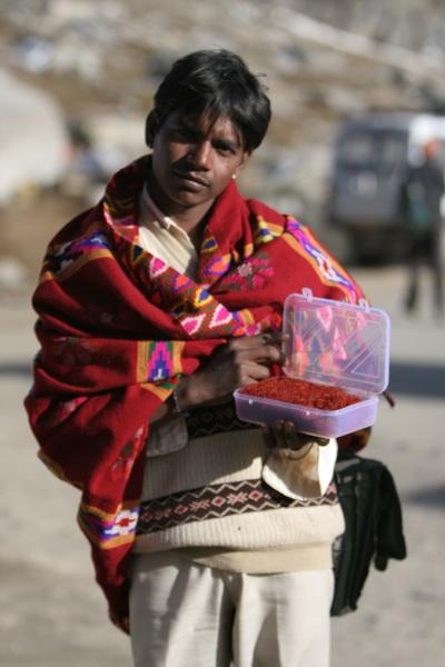 продавец шафрана