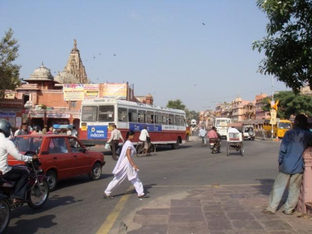 Улочки Джайпура