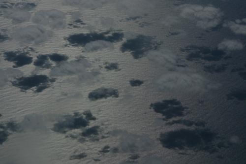 Облака и тень