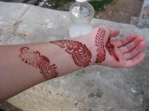 Jodhpur рисунки хной