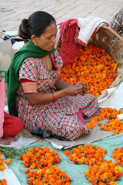 Катманду. Перед праздником Дивали