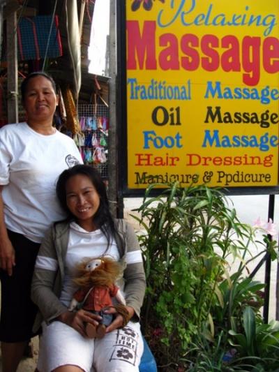 Наши массажистки в Каи Бае