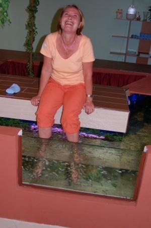Рыбий фут массаж