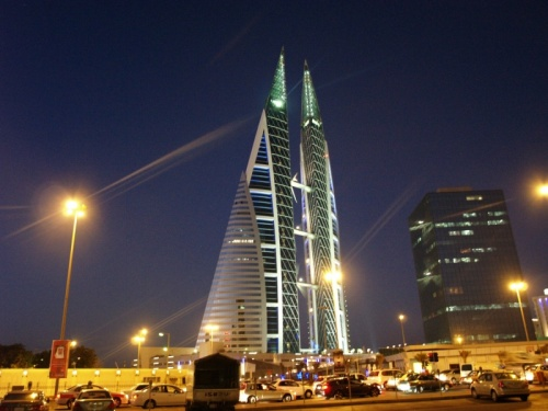 the Bahrain World Trade Centre (BWTC)