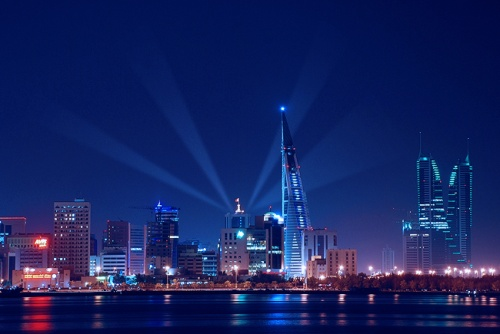 Manama at night by D design