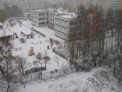 Москва. Первый снег