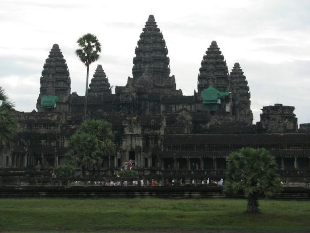 Ангкор Ват прощальный