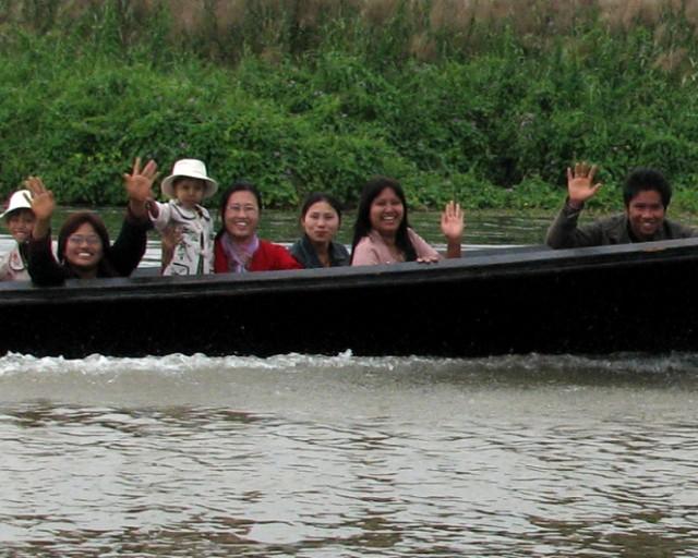 Вас приветствует вся Мьянма