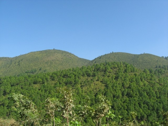 Пейзажи по дороге от Инле в Баган