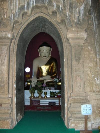 Внутри предыдущего храма
