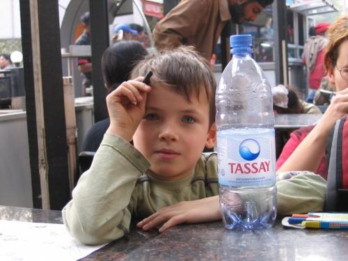 Реклама воды Tassay, к выпуску которой я имею некоторое отношение.