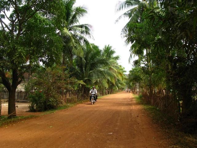 На дорогах Камбоджи
