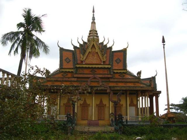 Пагода в Траче